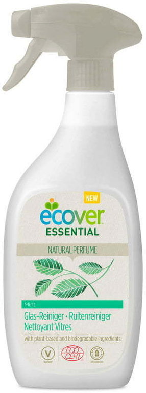 Ecover Essential Glasreiniger Spray Minze 500 ml