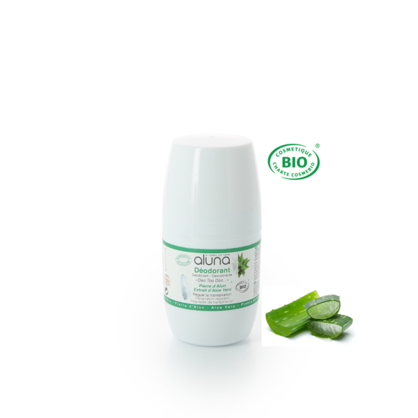 ALUNA Roll-on Deo mit Aloe Vera 50 ml