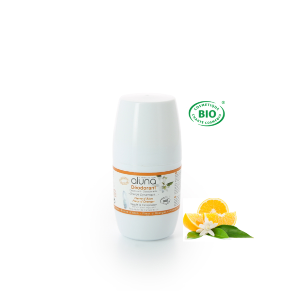 ALUNA Roll-on Deo mit Orangenblüte 50 ml