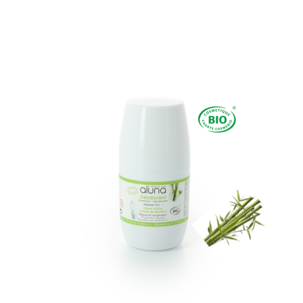 ALUNA Roll-on Deo mit Bambus 50 ml