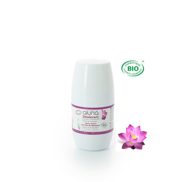 Aluna Roll-on Deo mit Wasserlilie 50 ml