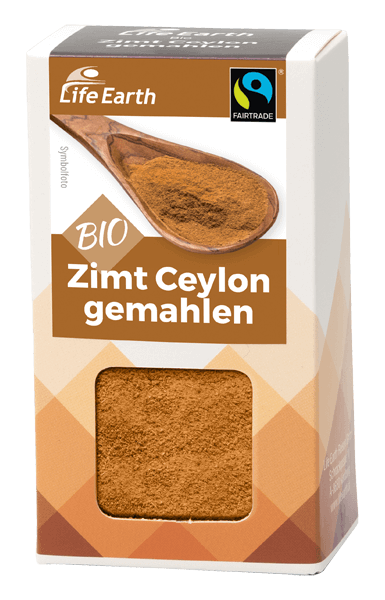 Life Earth Bio Fairtrade Zimt gemahlen 35 g