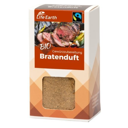 Life Earth Bratenduft – Fairtrade Bio Gewürzmischung 35 g
